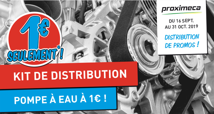 Kit distribution + Pompe à eau - Septembre 2019